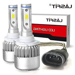 LASFIT 9005 HB3 LED Headlight Bulbs 6000K Cool White LED Con