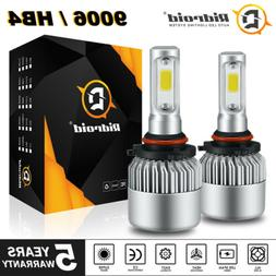 9006 HB4 LED Headlight Bulbs Conversion Kit Lamp 6000K White
