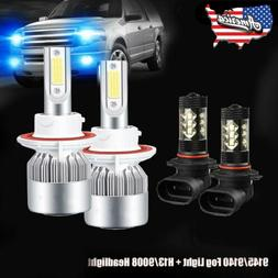 Combo 8000K LED Bulb for Ford F-150 2004-2014 Headlights and