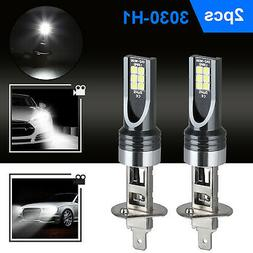 2X MINI H1 LED Headlight Bulbs Conversion Kit 100W 14000LM 6
