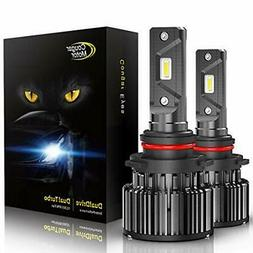 Cougarmotor LED Headlight Bulbs All In One Conversion Kit 90