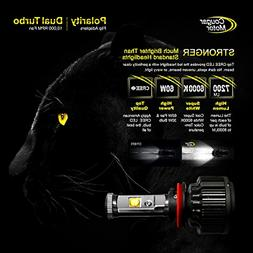Cougar Motor LED Headlight Bulbs All-in-One Conversion Kit -