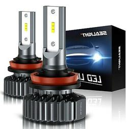 Sealight Scoparc S1 H11/h8/h9 Led Headlight Bulbs, Low Beam/